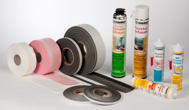 Spezialprodukteentwicklung im Auftrag des Kunden: PU-Schäume, Dichtmassen und Klebstoffe