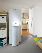 vaillant die leiseste luft wasser w rmepumpe baudatenbank at. Black Bedroom Furniture Sets. Home Design Ideas
