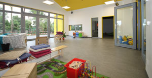 Kinderkrippe Maikäfer Wittmund in Passivhausstandard