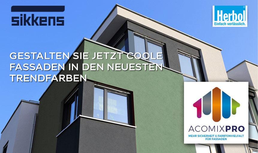 AcomixPro: Coole Fassaden gestalten!