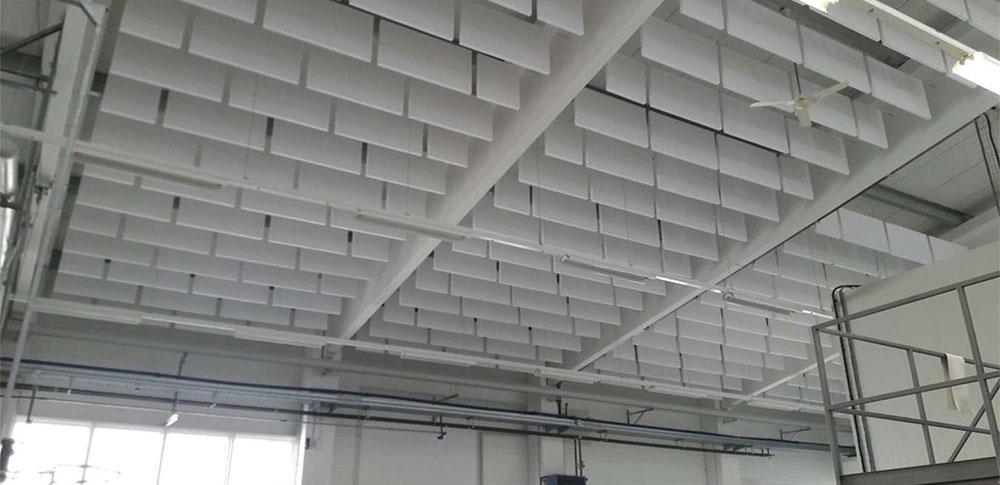 ALLCLICK: Schallschutz in Industrie, Büro, Hallen und als Raumobjekt