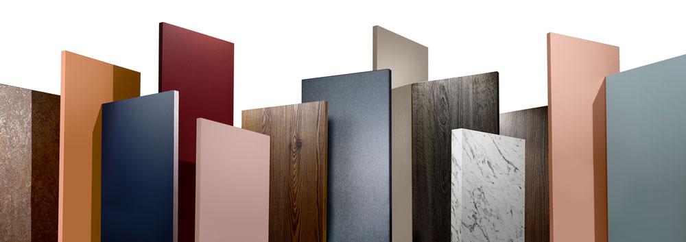 Mehr Möglichkeiten mit der neuen EGGER Kollektion Dekorativ