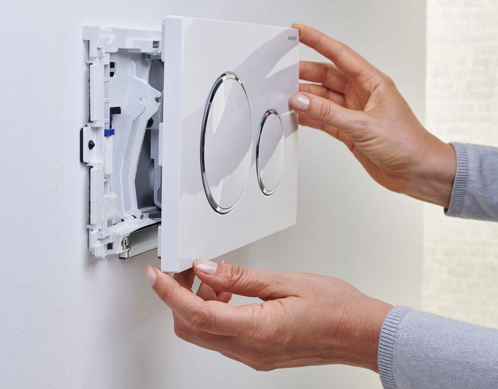 Innovative Geberit Geruchsabsaugung für das WC