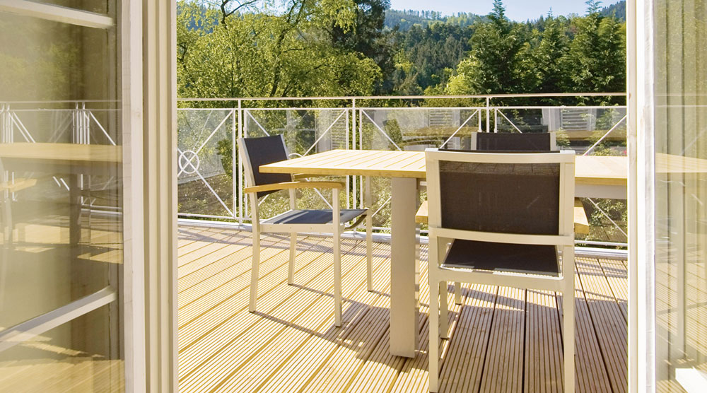 SCHÖCK: Auch bei Balkonen gilt: Innen ohne Schimmel