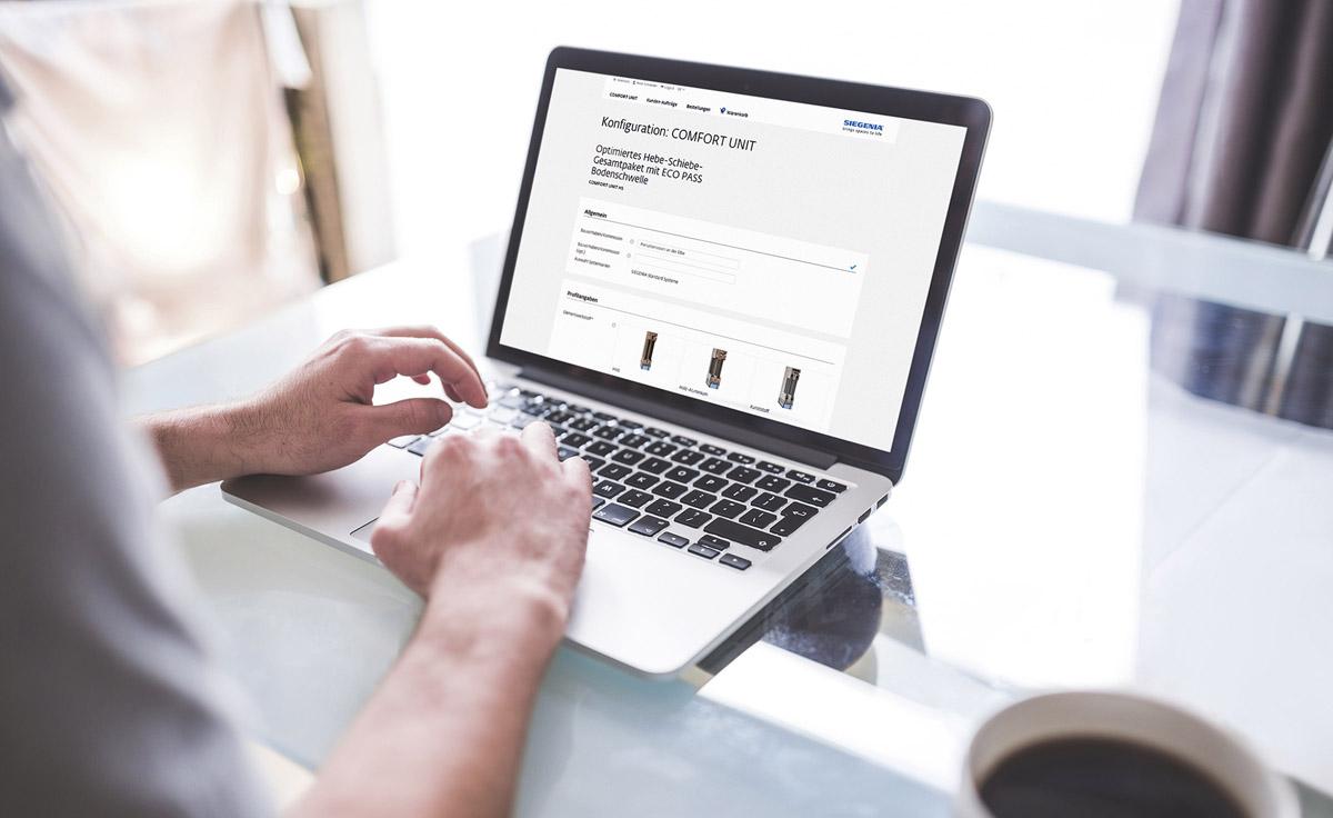 """""""Total digital"""": der neue Onlineshop von SIEGENIA"""