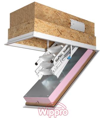 Dachbodentreppe KLIMATEC 160