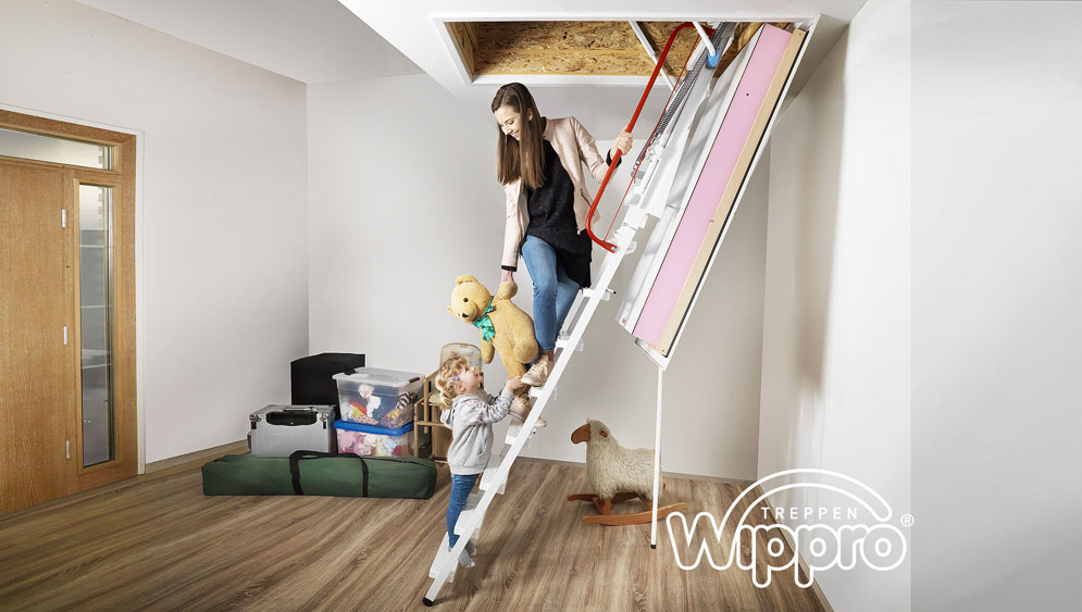 Die neue Dachbodentreppe KLIMATEC 160