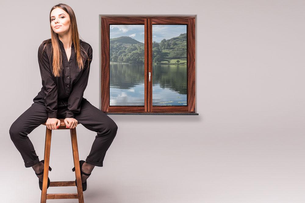 """Gedrucktes Fenster """"INSTYLE"""" – die Innovation von Gaulhofer"""