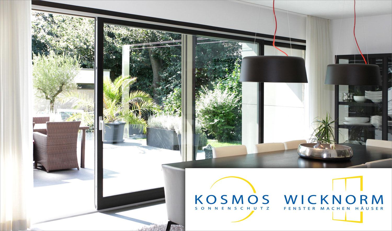 WICKNORM Fenster und KOSMOS Sonnenschutz