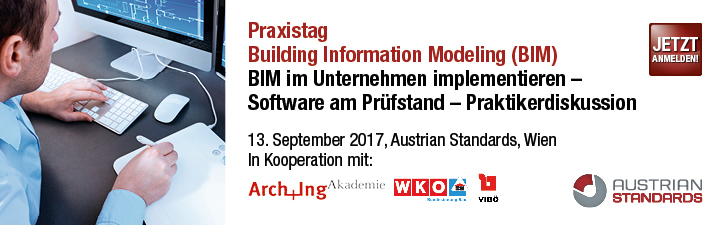 Praxistag Building Information Modeling