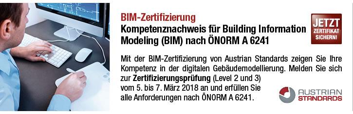 BIM-Zertifizierung