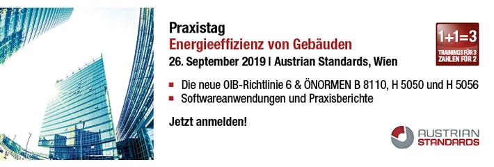 Praxistag: Energieeffizienz von Gebäuden