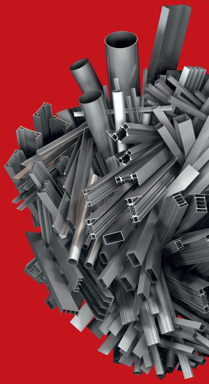 HYDRO BUILDING SYSTEMS: Unsterbliches Aluminium für unsterbliche Entwürfe