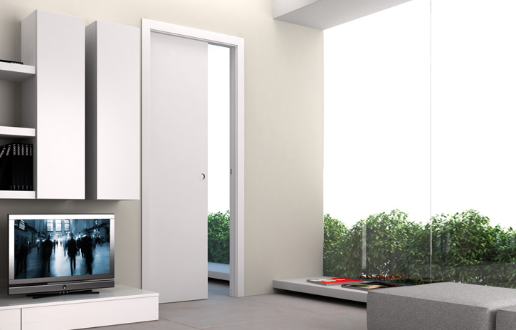 eclisse intelligente raumnutzung mit innenwand schiebet ren von eclisse baudatenbank at. Black Bedroom Furniture Sets. Home Design Ideas