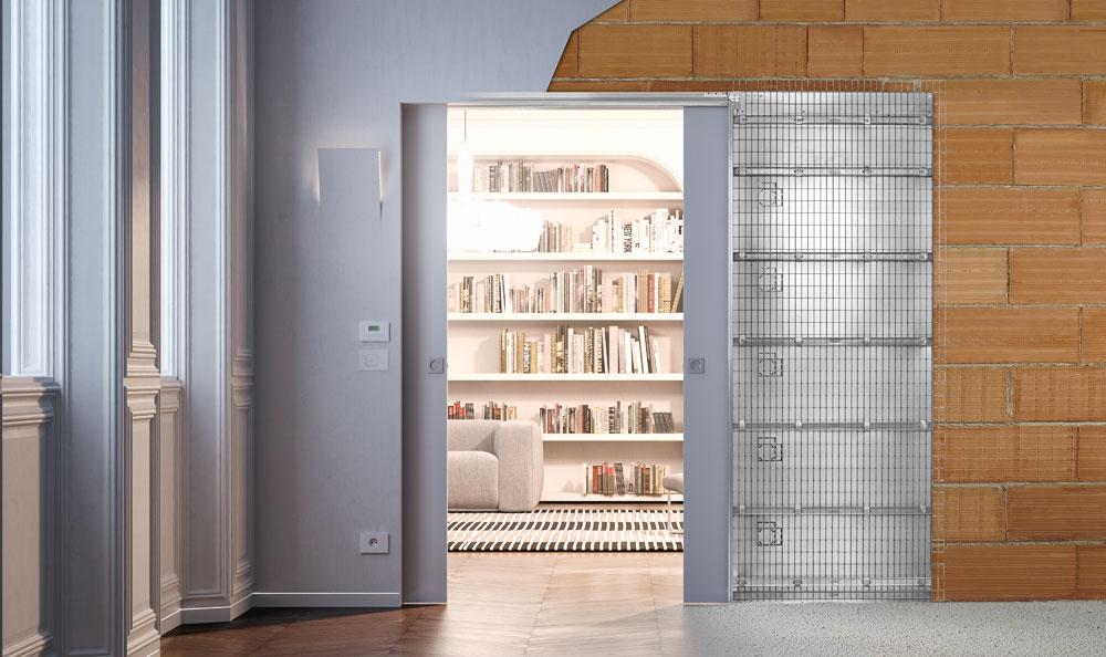 ECLISSE: Smarte Integration von Haustechnik bei Schiebetür-Systemen
