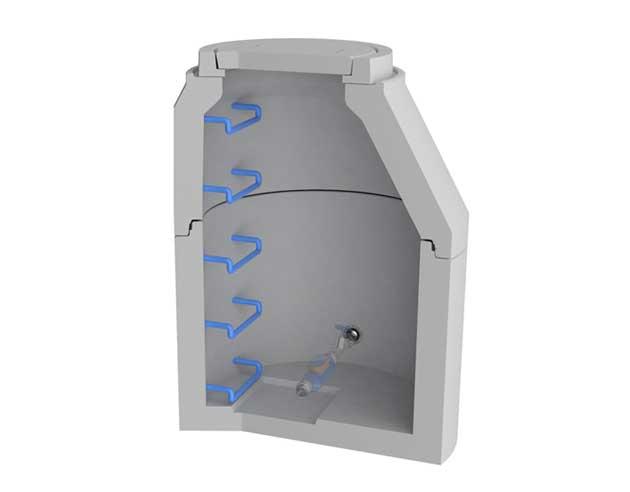 ACWA-S Wasserzählerschacht