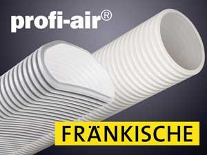 Kontrollierte Wohnraumlüftung mit profi-air®-Lüftungssystem von Polysan