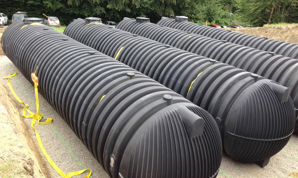 SCHÜTTER: Löschwasserbehälter aus Kunststoff