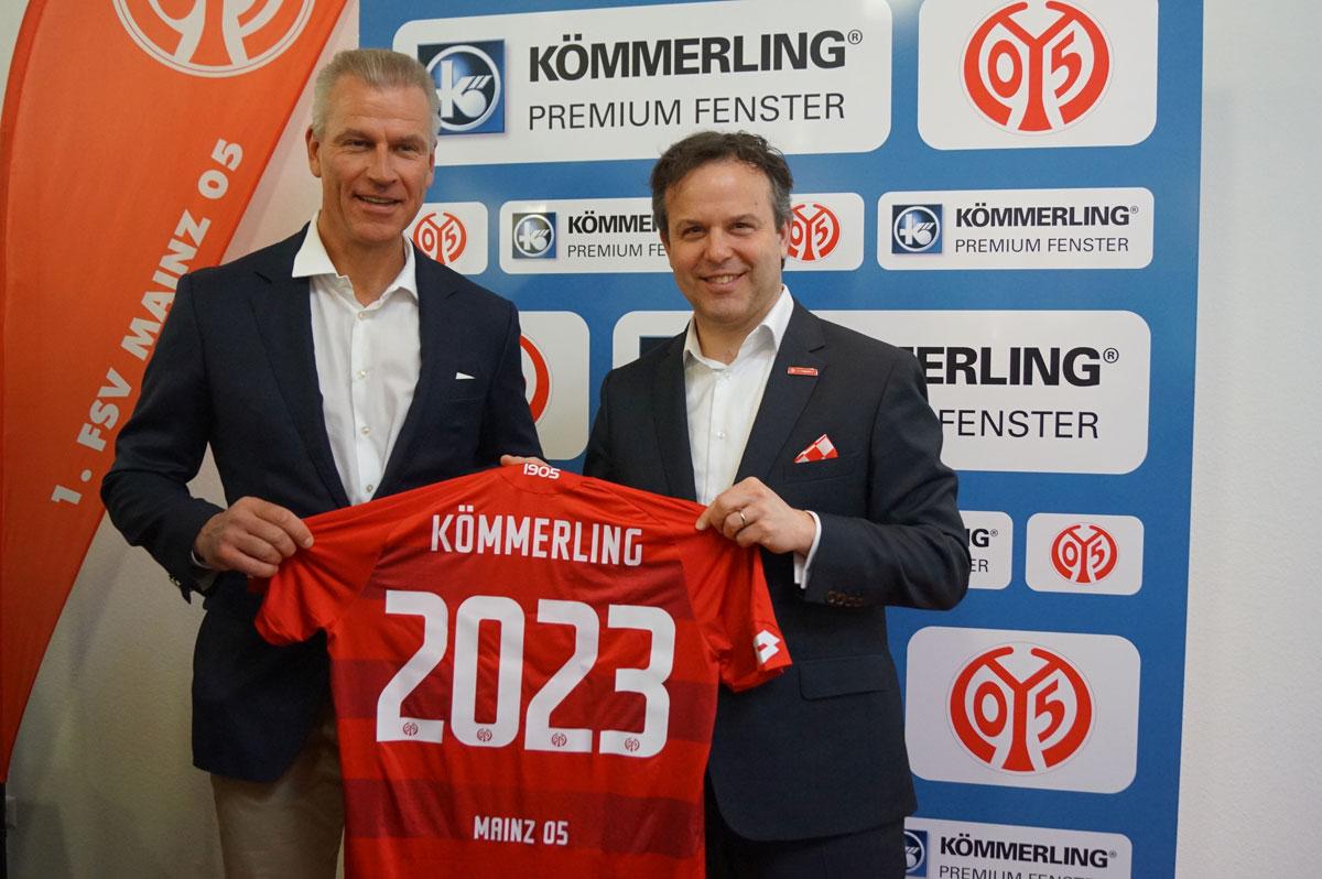 profine wird Rekord-Hauptsponsor vom 1. FSV Mainz 05