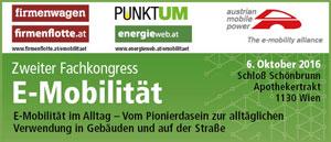 Zweiter Fachkongress E-Mobilität