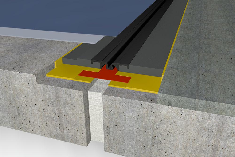 FloorBridge Hightech-Bodenfugenprofile