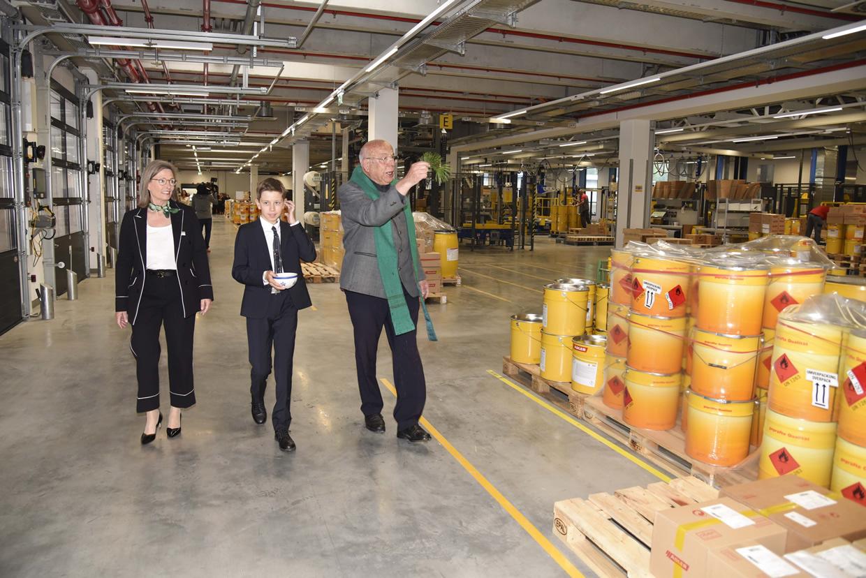 """""""Ein Generationenprojekt"""": ADLER-Lacke eröffnet neue Produktions- und Logistikanlagen in Schwaz"""