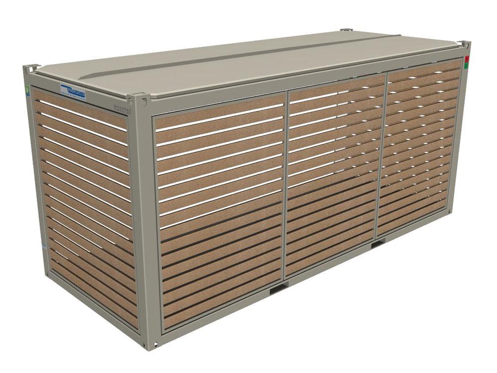 CONTAINEX-Terrassencontainer