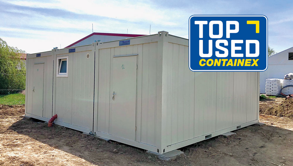 CONTAINEX TOP USED Gebrauchtcontainer