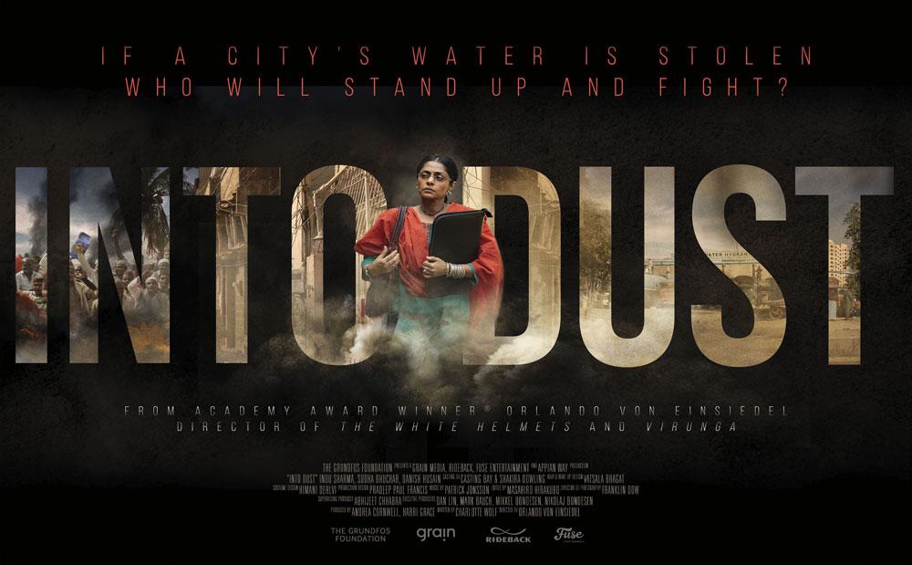 Die Grundfos Stiftung ist Sponsor des Films INTO DUST
