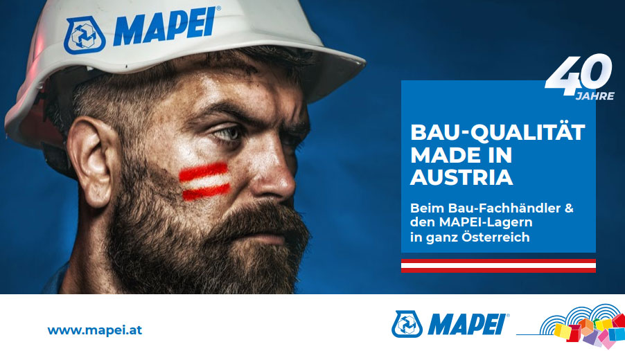 40 Jahre MAPEI Austria