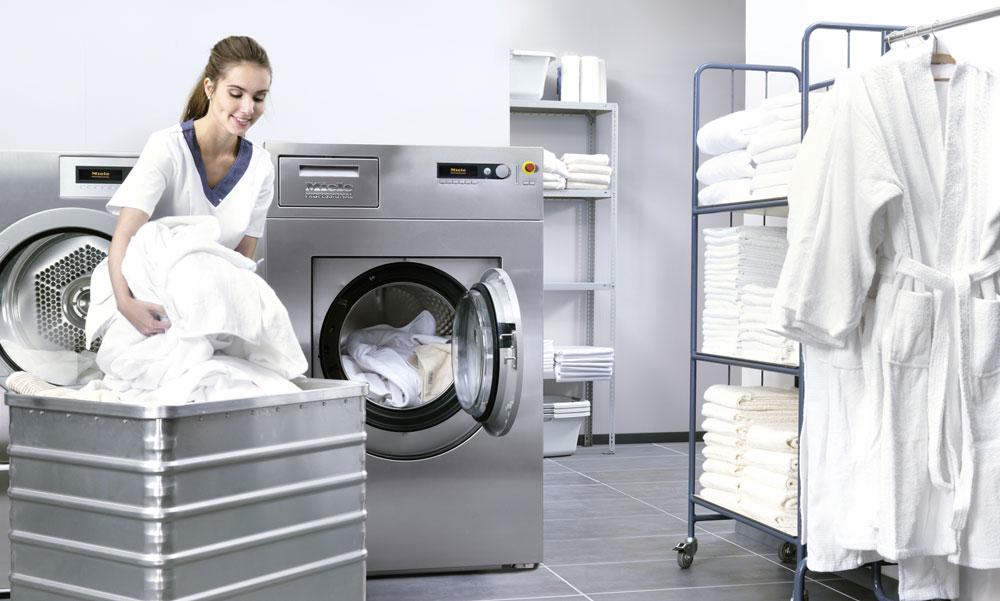 MIELE: Inhouse Wäscherei für höchste Hygienestandards