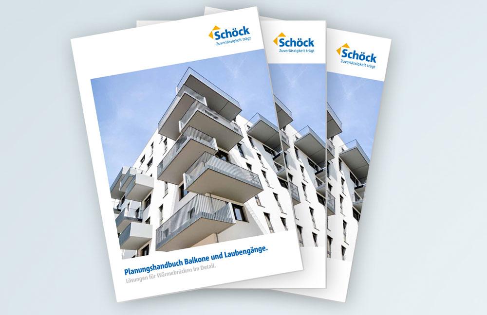 Planungshandbuch für Balkone und Laubengänge von Schöck