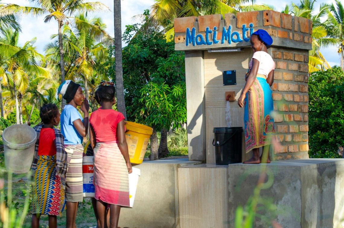 WILO: Mati, Mati: Wasserversorgung für 6.000 Menschen pro Tag