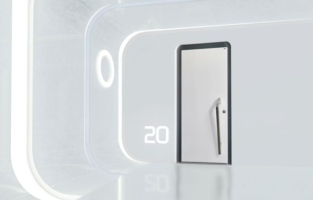 Wippro Curve – so smart können Türen sein