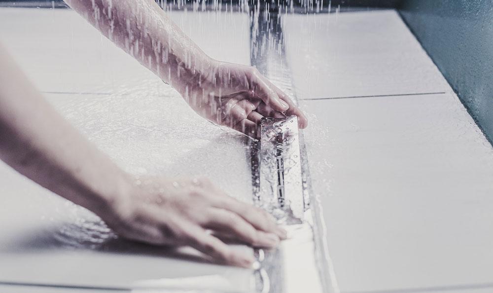 Neue Duschrinne von ACO