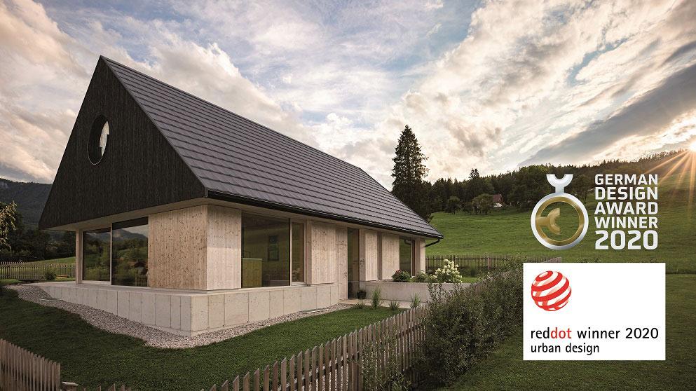 WIENERBERGER: Tondach V11 mit Red Dot Award ausgezeichnet