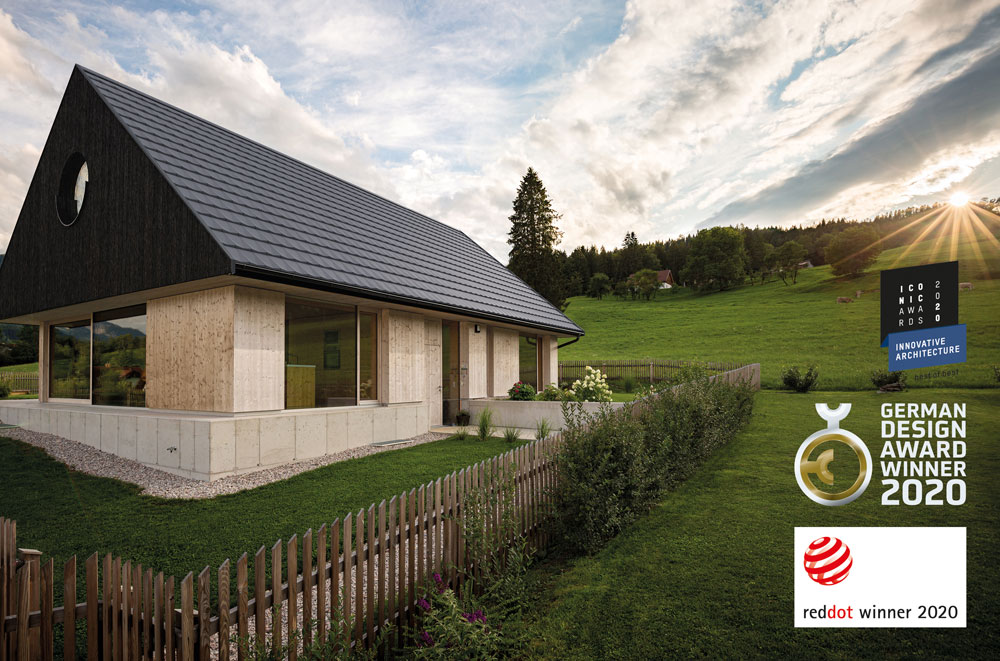 WIENERBERGER: Tondach V11 mit Iconic Award 2020: Innovative Architecture ausgezeichnet