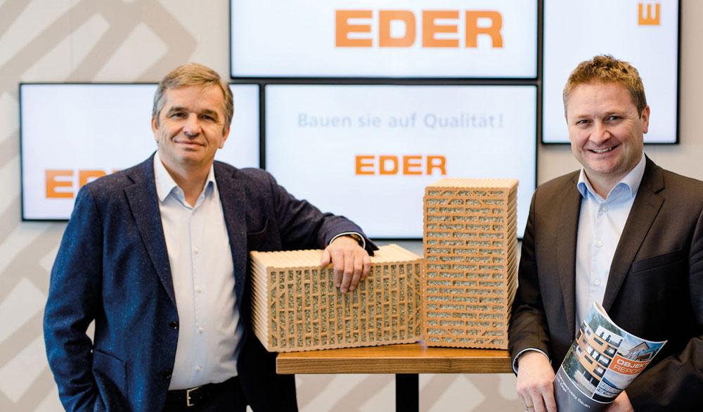 EDER Vollwertziegel: Sicher bauen für eine nachhaltige Zukunft