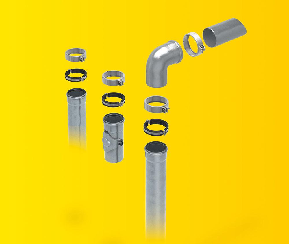 Neu! SitaPipe Rohrsystem für DSS-Anlagen