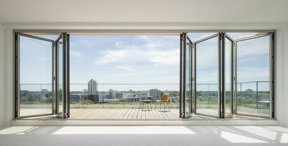 Glas-Faltwänden von Solarlux