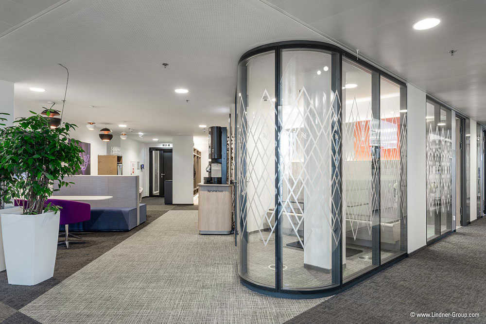 LINDNER: Flexibler Büroausbau