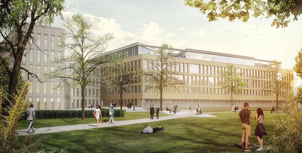 Lindner realisiert Projektkoordination und Innenausbau im Metahof V in Graz