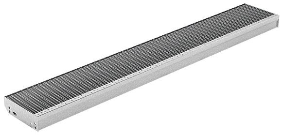 Treppenstufen XXL: Systemstufen mit großer Stützweite