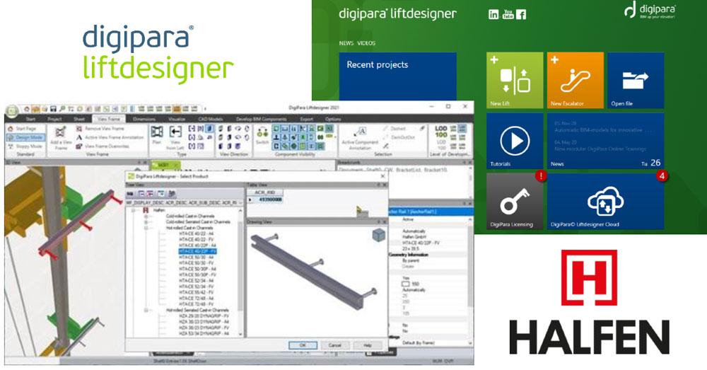 DigiPara Liftdesigner Cloud