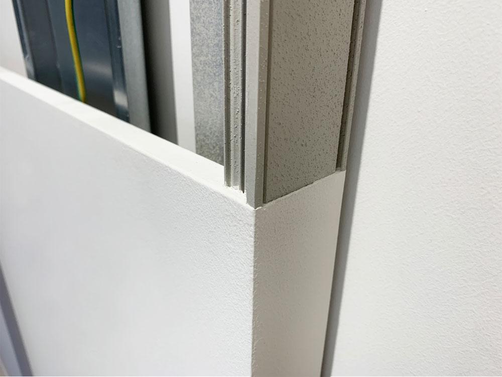 Wandbündigen Schiebetür-Systemen von ECLISSE