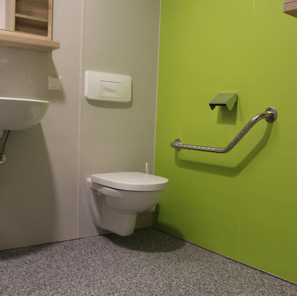 OK-PANEELE: Fugenlose Wandverkleidungen im Sanitärbereich