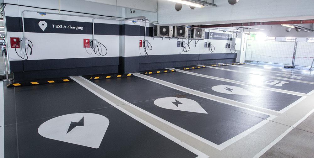 Parkplätze modernisieren mit Silikal-Bodensystemen