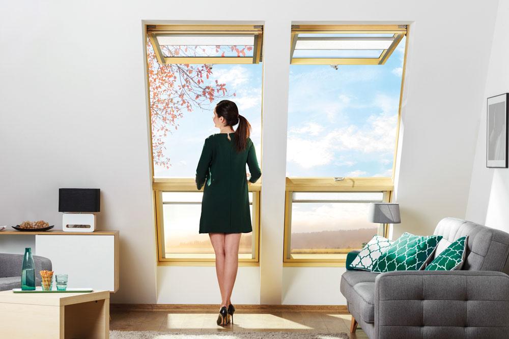 Das neue Dachfenster FAKRO preSelect MAX für MAXimalen Wohnkomfort