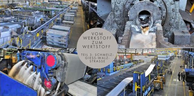 VOM WERKSTOFF ZUM WERTSTOFF: SCHMELZ-GIESS-WALZSTRASSE