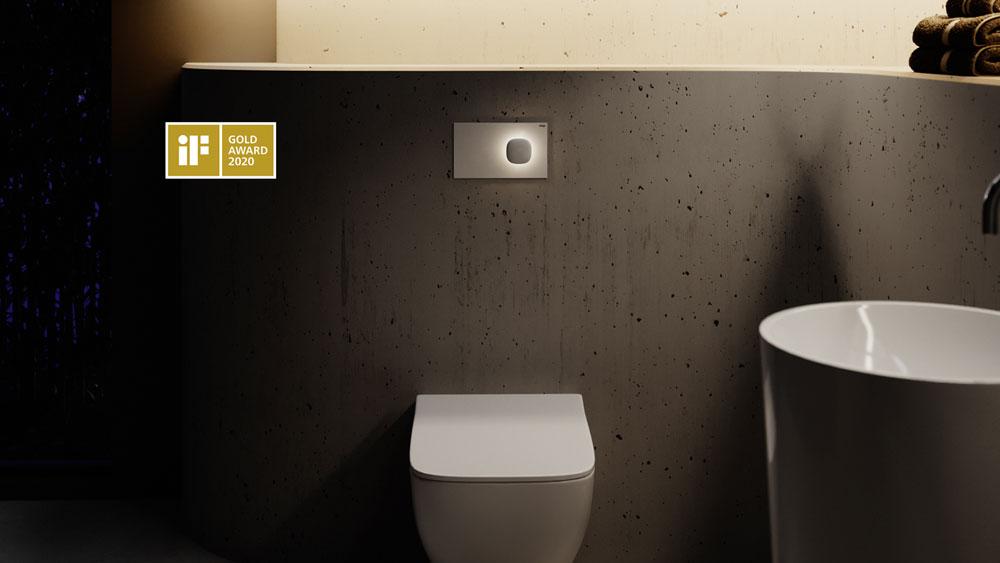 """iF Design Award in Gold für """"Visign for More 202"""" von Viega"""
